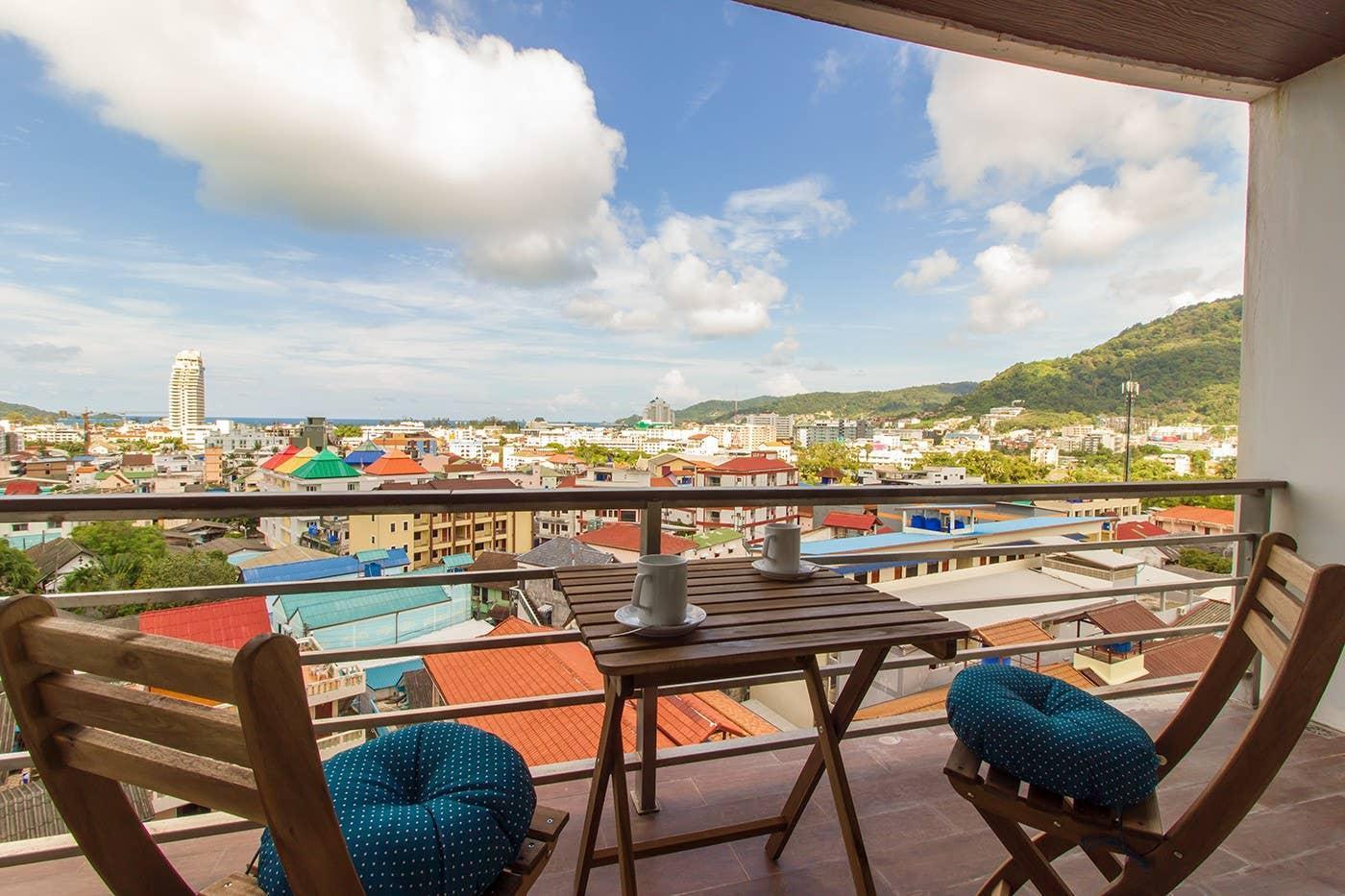Patong Ocean View Studio Apartment
