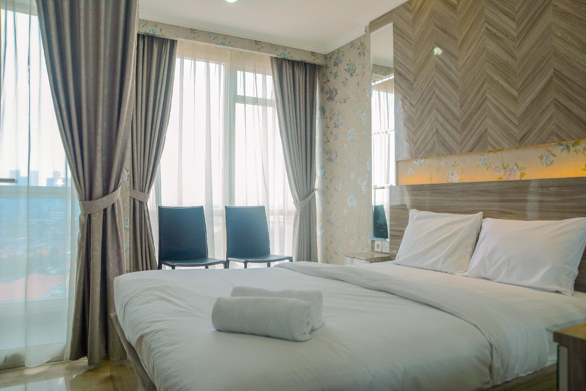 Tranquil Studio Apt At Menteng Park By Travelio