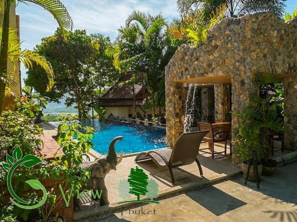 Green View 1 Villa Phuket วิลลา 2 ห้องนอน 2 ห้องน้ำส่วนตัว ขนาด 150 ตร.ม. – กะทู้