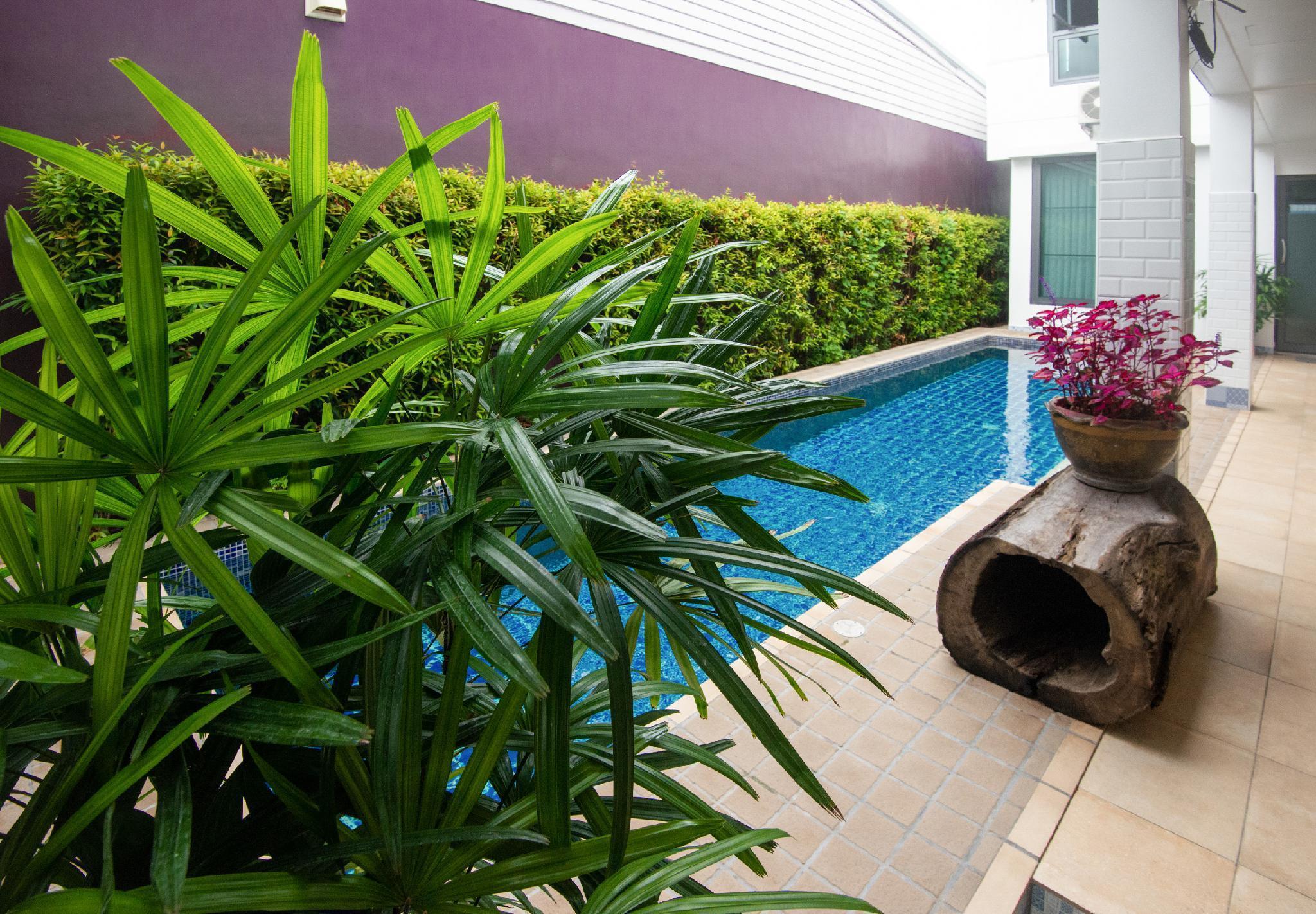 Billina Boutique Villa private pool two bedroom 2 ห้องนอน 3 ห้องน้ำส่วนตัว ขนาด 450 ตร.ม. – ฉลอง
