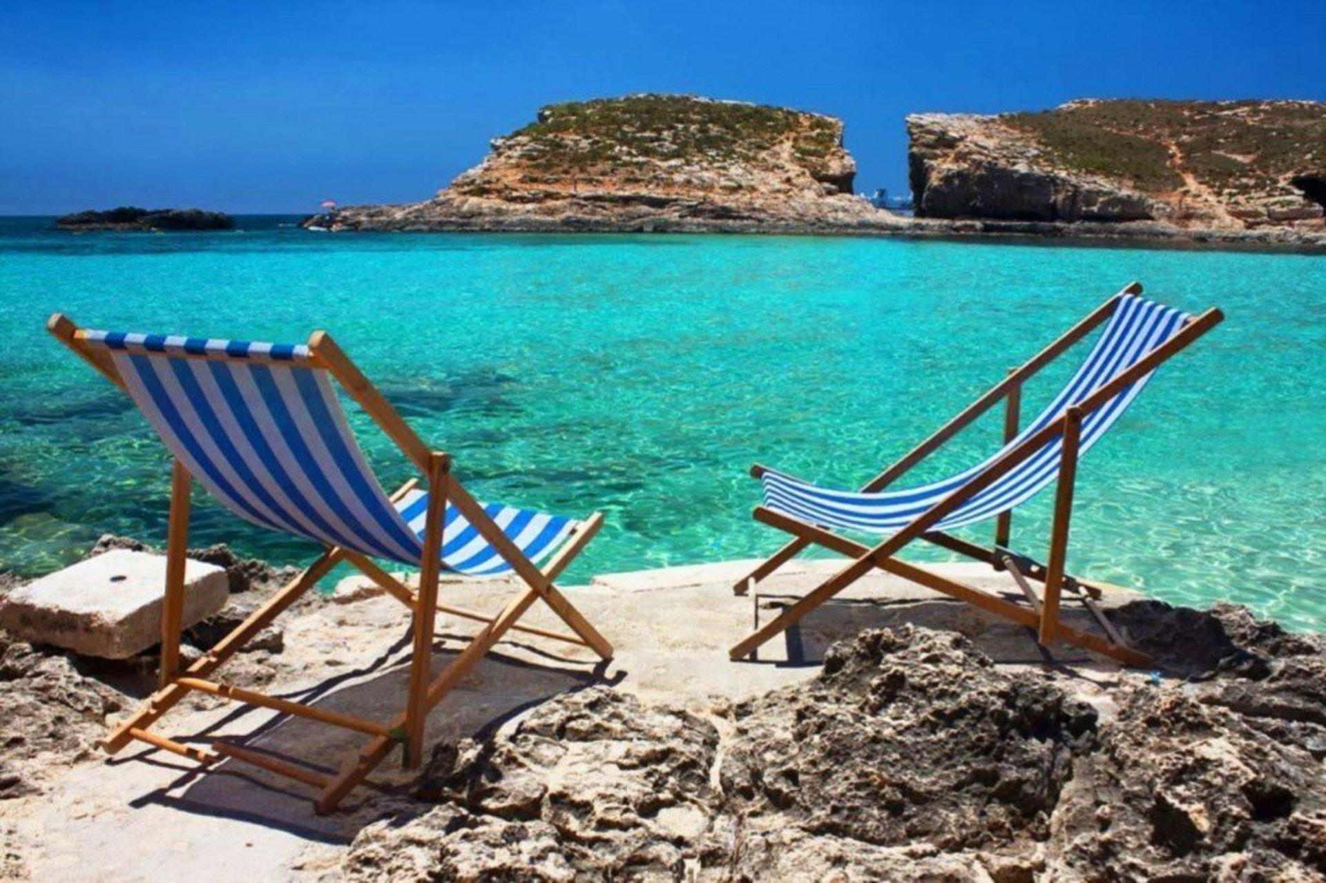 Picture Relaxing Beside Your Private Pool In Protaras Reading Your Favourite Book