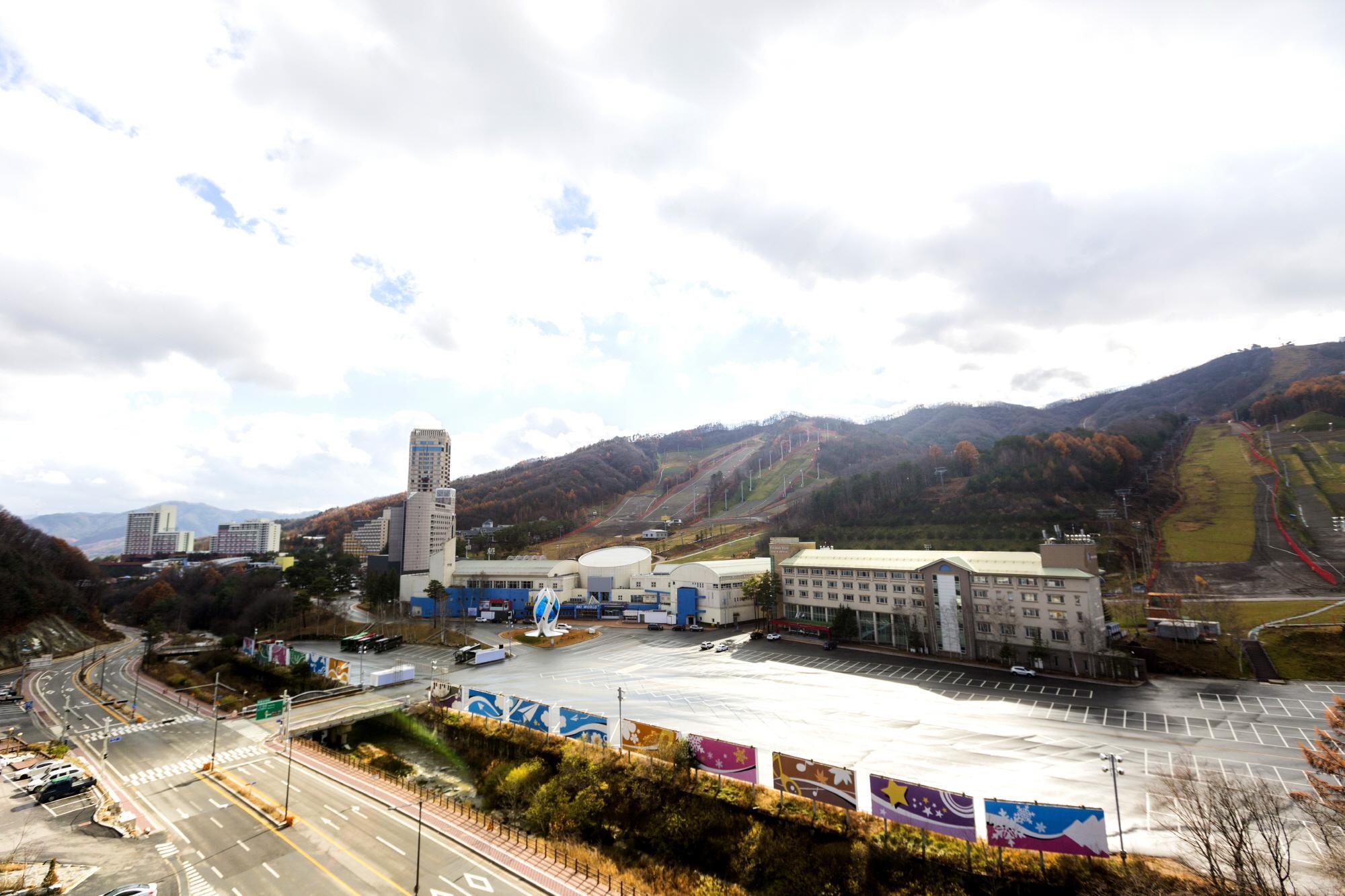 Pyeongchang The White View