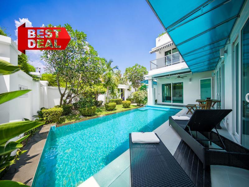 CRYSTAL Pool Villa 5 Bedroom Palm Oasis Village