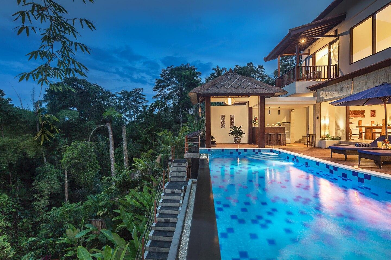 3BR Tropical Family Villa Ubud