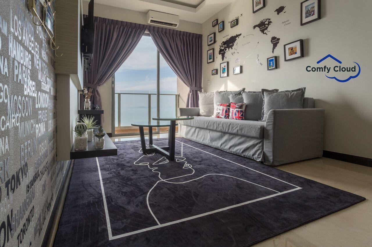 005.SILVERSCAPE British Style 2 Bedrooms Apartment