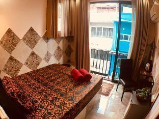 [サトーン]スタジオ アパートメント(10 m2)/1バスルーム Cozy Hideaway Near MRT Lumpini and Center