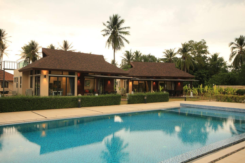 Stylish new 2 bedroom beachside pool villa วิลลา 2 ห้องนอน 2 ห้องน้ำส่วนตัว ขนาด 115 ตร.ม. – หาดยาว