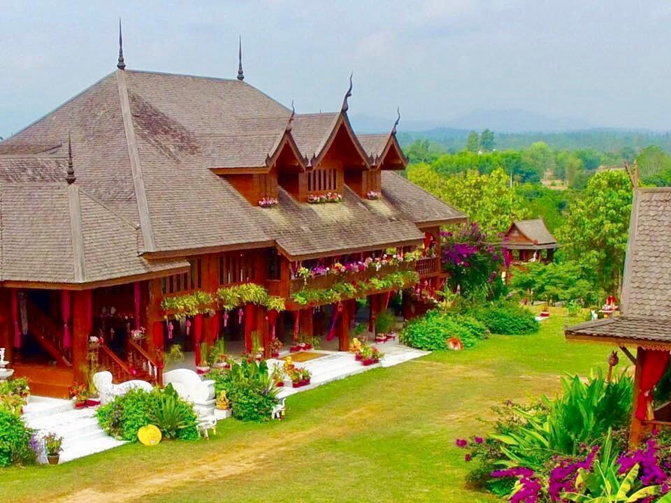 Thai Teak Palace บ้านเดี่ยว 4 ห้องนอน 3 ห้องน้ำส่วนตัว ขนาด 8000 ตร.ม. – เมืองงาย