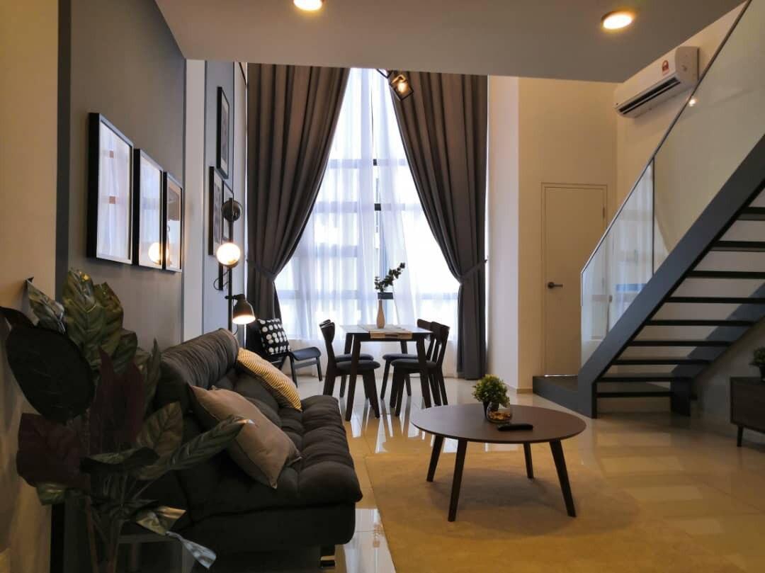 NEW   Luxury  EkoCheras Duplex 1BR By COBNB  EC26