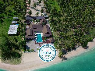 [ラマイ]ヴィラ(1800m2)| 4ベッドルーム/3バスルーム Ban Laem Set Beachfront Family Villa