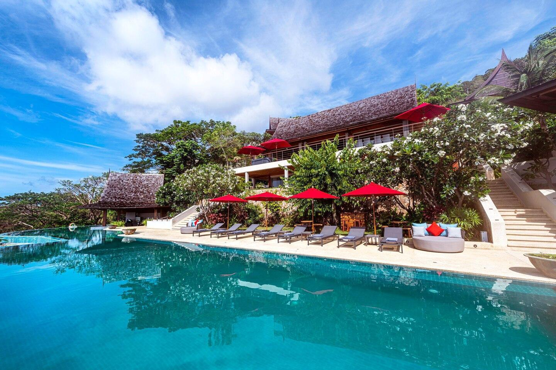 Baan Jakawan วิลลา 7 ห้องนอน 8 ห้องน้ำส่วนตัว ขนาด 2750 ตร.ม. – หาดเฉวง