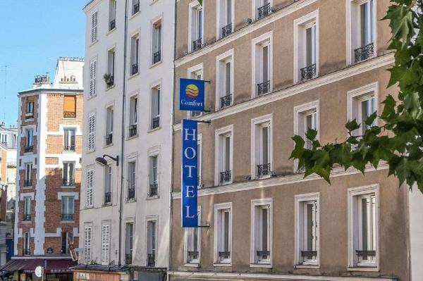 Comfort Hotel Lamarck Paris 18 Paris