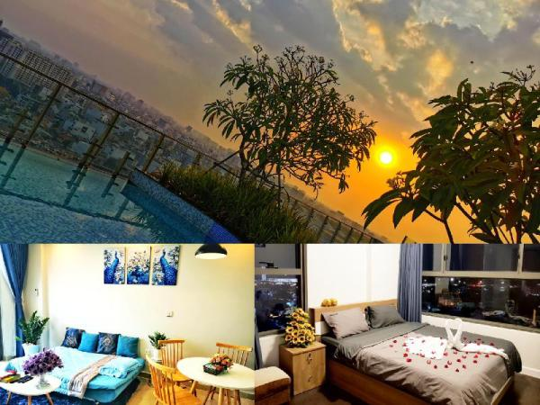 Luxury Suite-7pax-Rooftop Pool-Gym-5Min to Airport Ho Chi Minh City