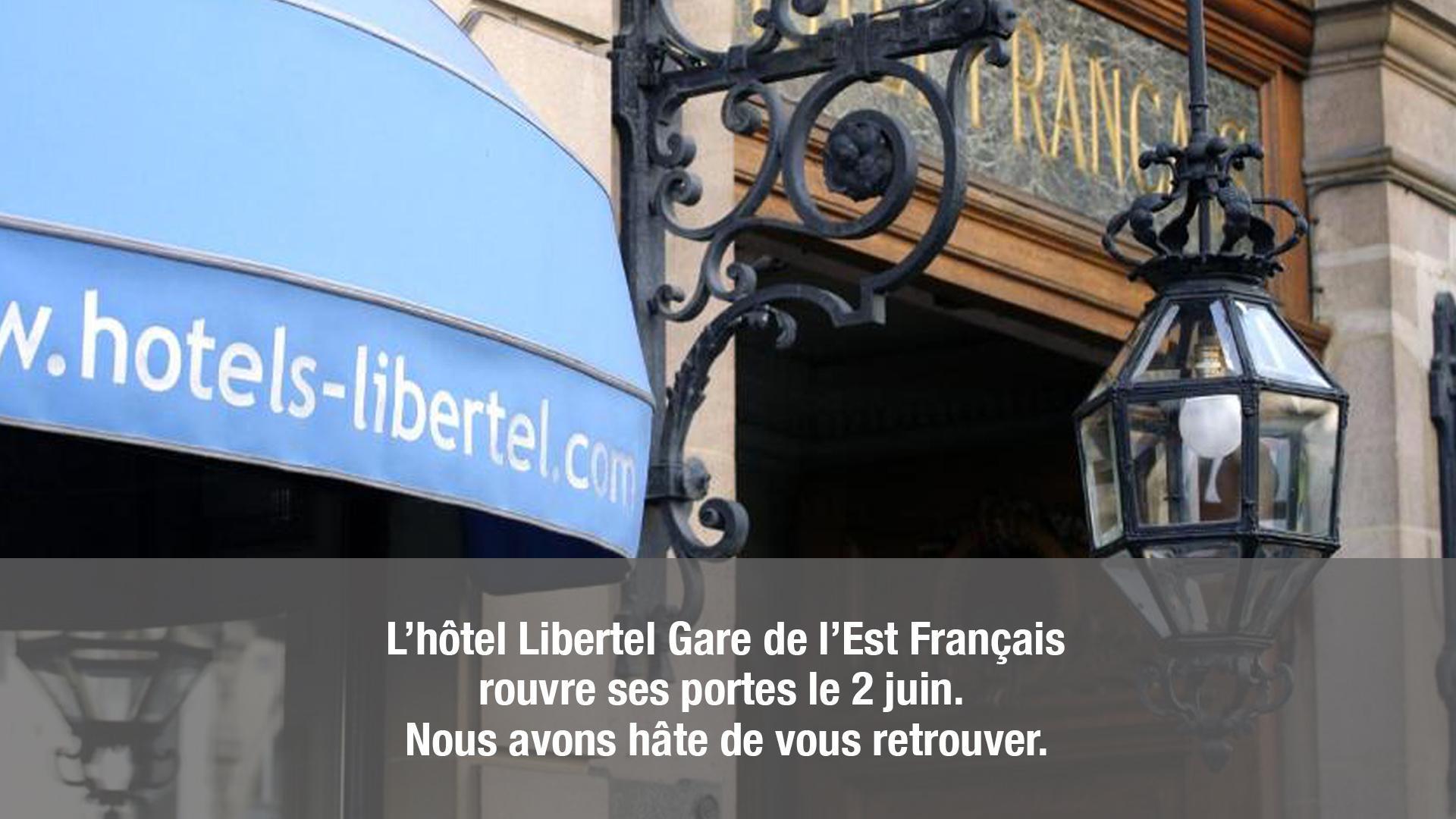 Hotel Libertel Gare de l'Est Francais