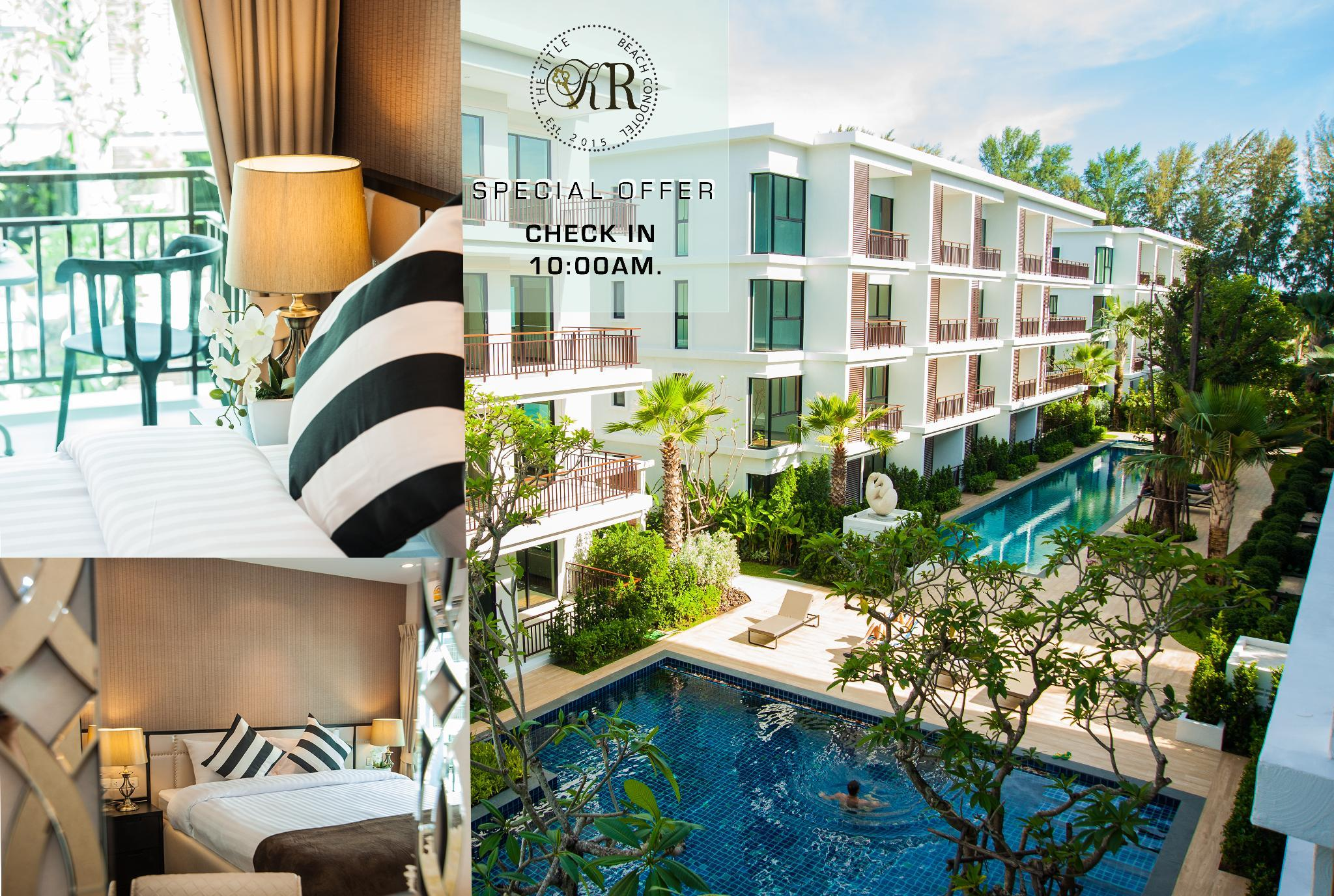 The Title KR Beach Condotel Rawai Phuket