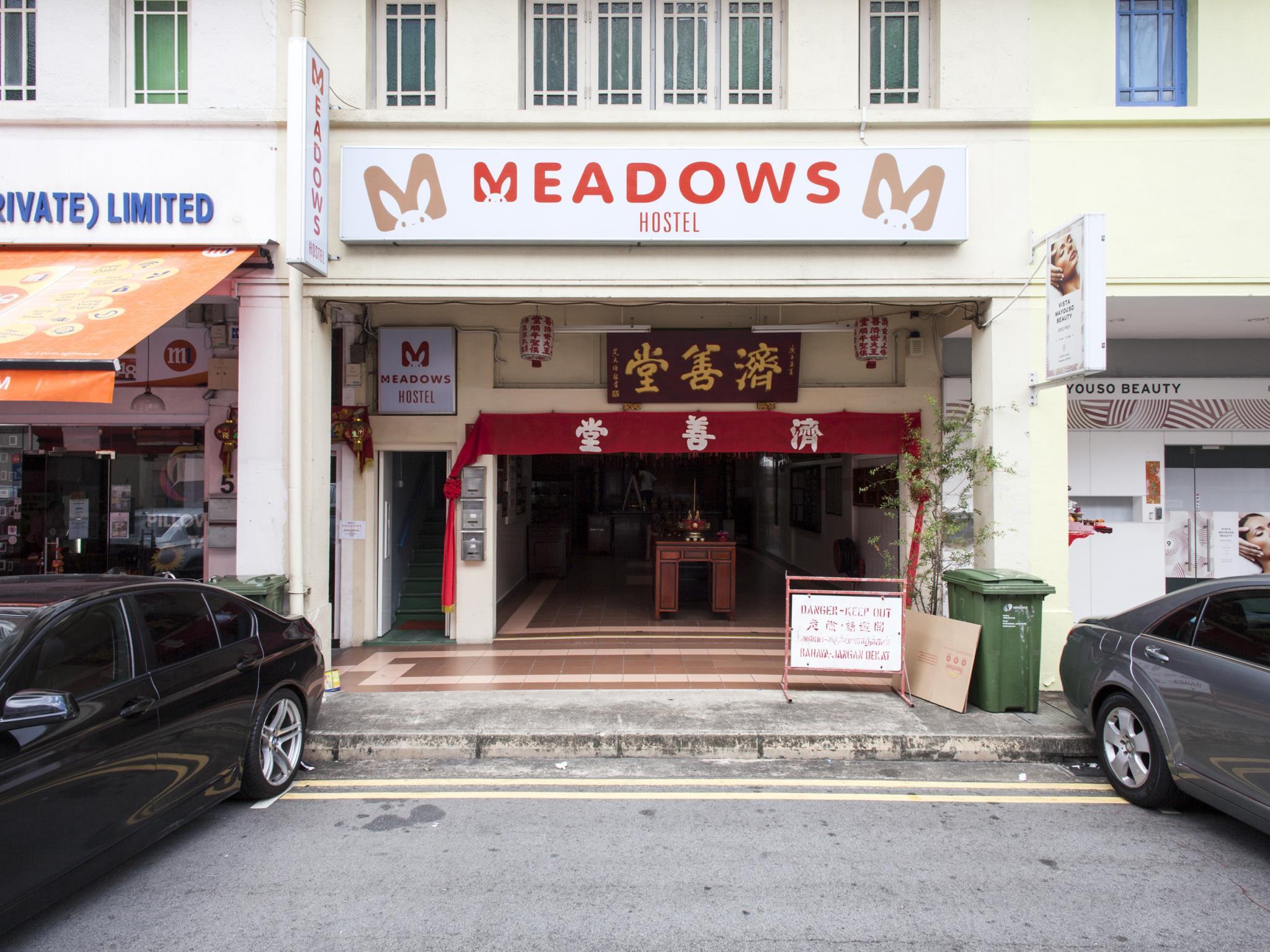 Meadows Hostel (SG Clean Certified)