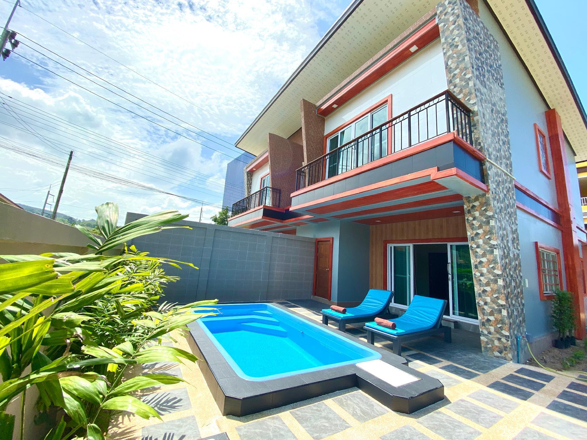Blue Aura Pool Villa บลู ออร่า พูลวิลลา