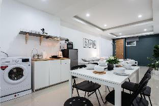[サトーン]スタジオ アパートメント(42 m2)/1バスルーム P1 Silom Pan large room full kitchen WIFI 4-6pax