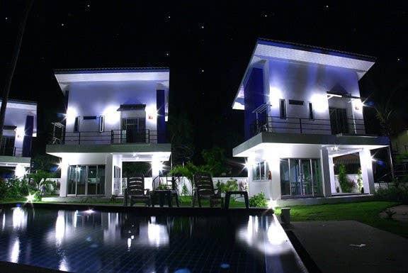 beach front villa วิลลา 1 ห้องนอน 1 ห้องน้ำส่วนตัว ขนาด 100 ตร.ม. – ท้องศาลา