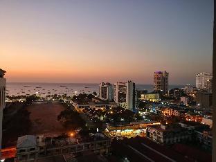 [パタヤ中心地]アパートメント(30m2)| 1ベッドルーム/1バスルーム 3. Central sea Pattaya 3 minutes to the beach