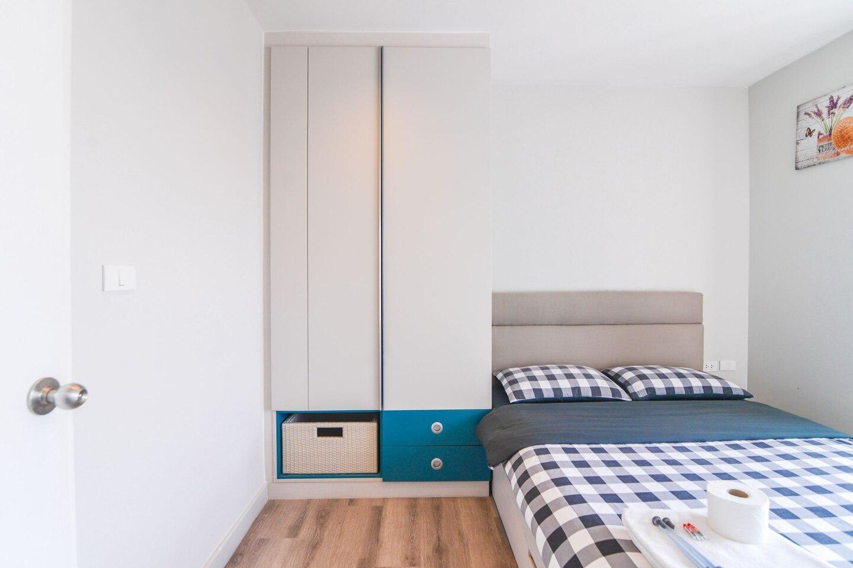 Centric sea High-end one-bedroom apartment seaview อพาร์ตเมนต์ 1 ห้องนอน 1 ห้องน้ำส่วนตัว ขนาด 30 ตร.ม. – พัทยากลาง