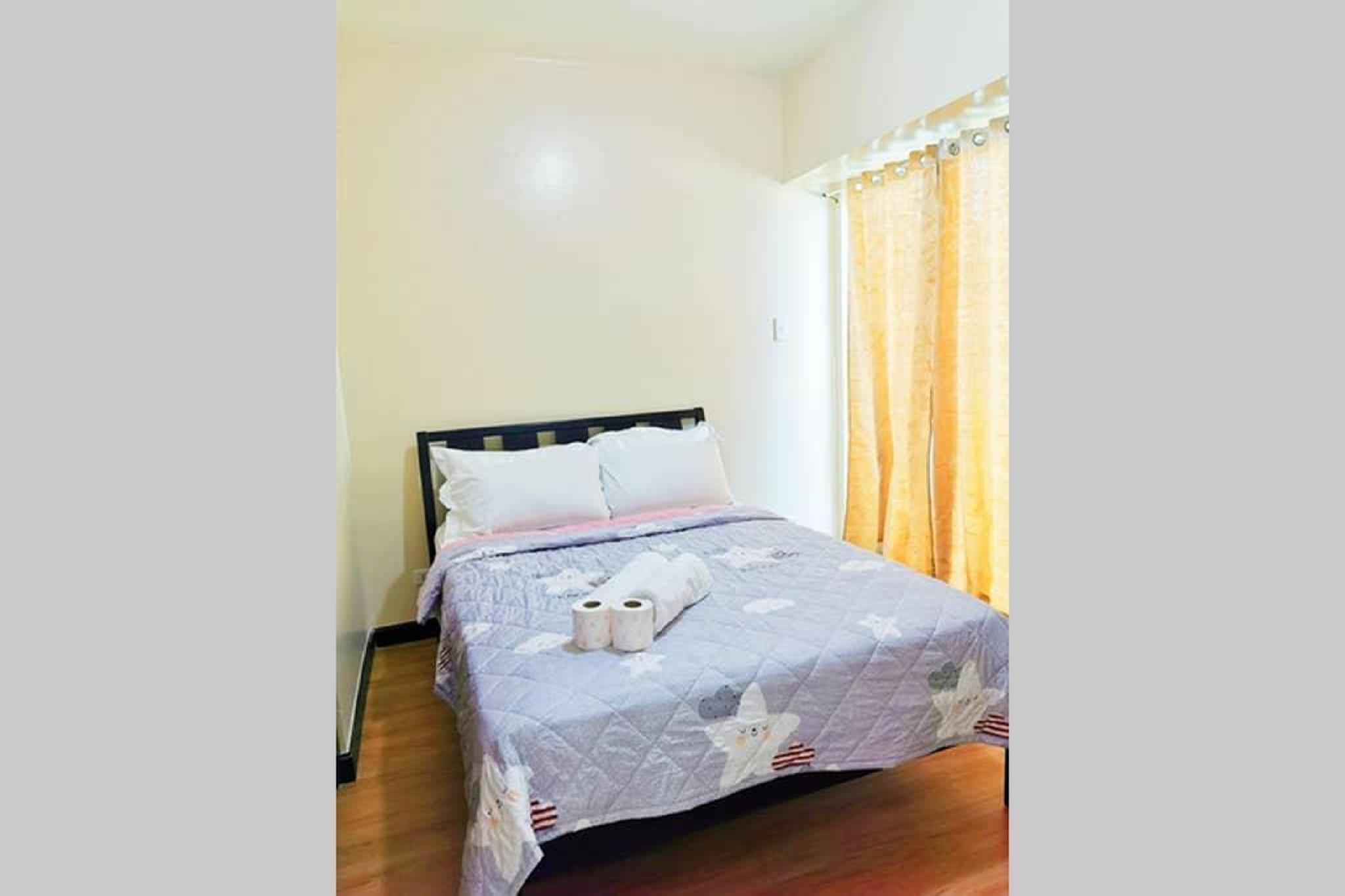 3415 HoliStay Manila 1Bedroom w/ NETFLIX & Balcony
