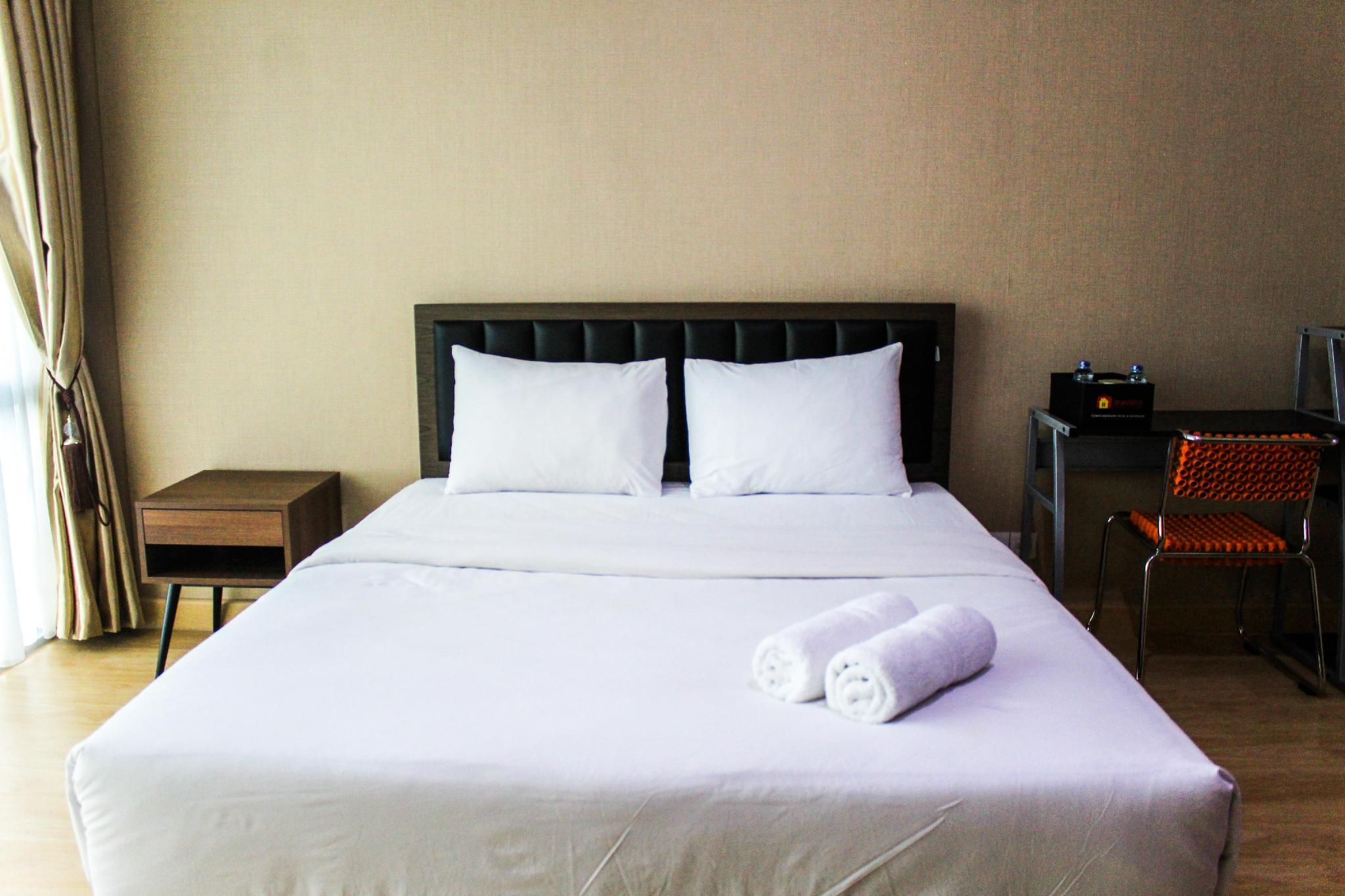 Warm And Relax Studio @ U Residence Apt By Travelio