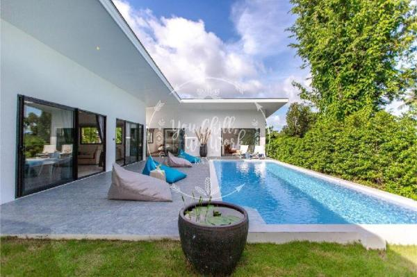 Lotus Villa 3 bedrooms 500m from the Beach Koh Samui