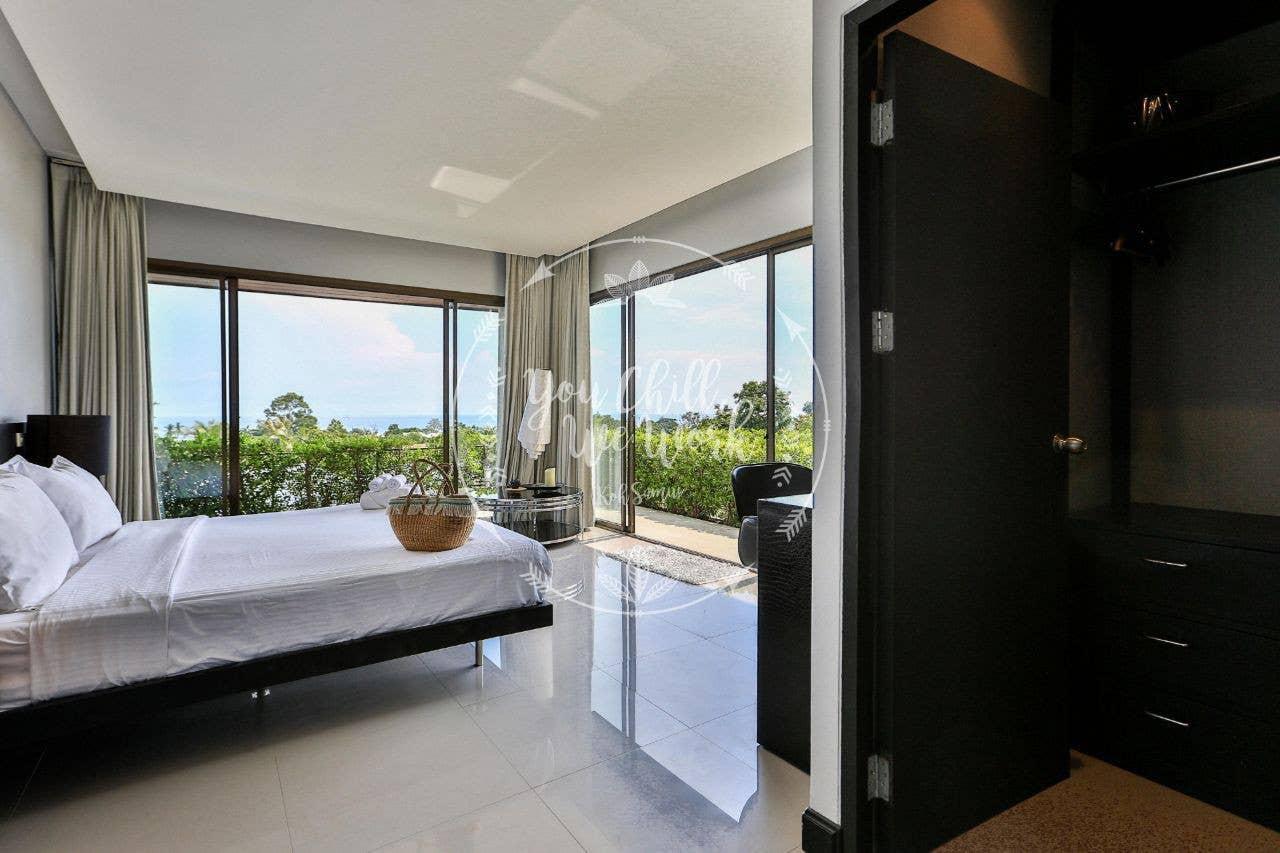 Mango Villa Sea View 500m From the Beach 3 BR วิลลา 3 ห้องนอน 3 ห้องน้ำส่วนตัว ขนาด 250 ตร.ม. – หาดละไม