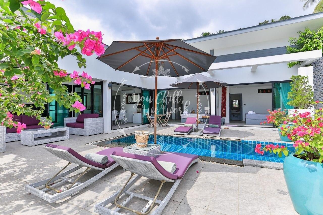 Mourmel Villa 2 BR 500m From The Beach