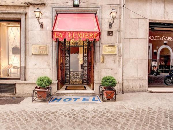 Hotel La Lumiere di Piazza di Spagna Rome