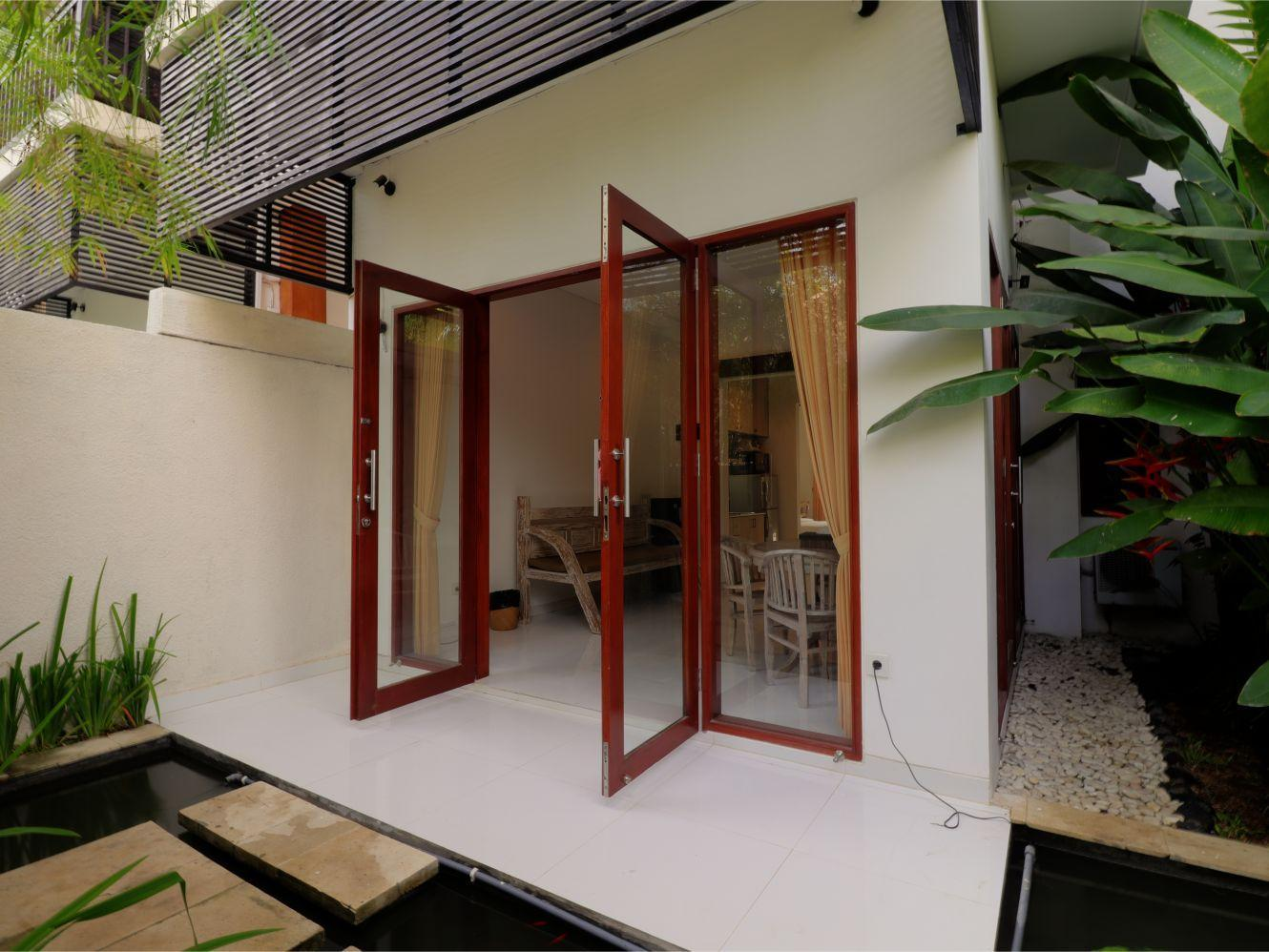 Sanur Private Room 103 With Terrace And Kitchen