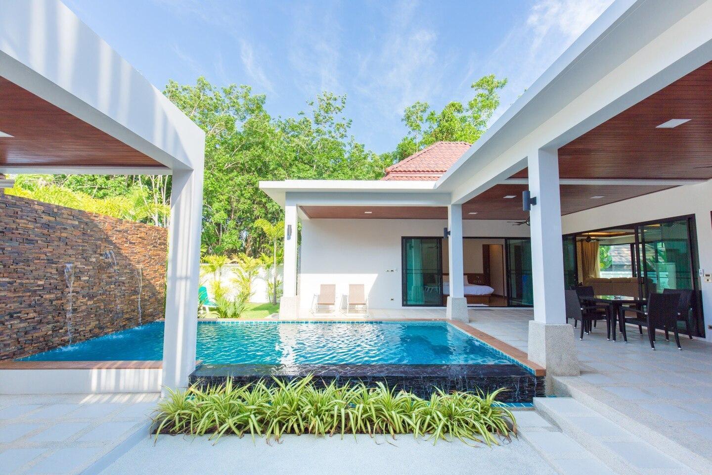 Bright and Quiet Villa with Pool วิลลา 2 ห้องนอน 2 ห้องน้ำส่วนตัว ขนาด 380 ตร.ม. – ในหาน