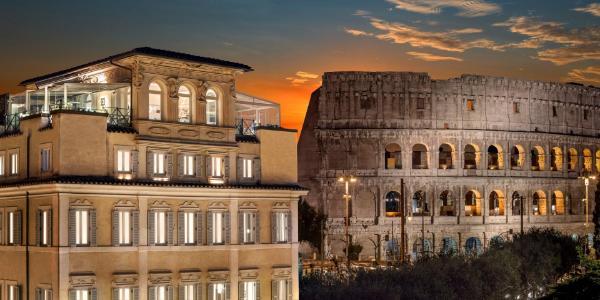 Hotel Palazzo Manfredi – Small Luxury Hotels of the World Rome