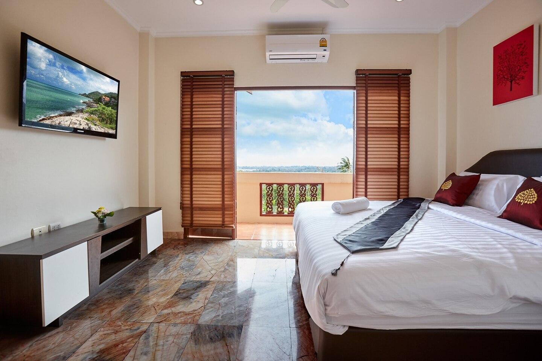 Villa Namuang 4 Bed/5 Bath, Sea View, Private Pool วิลลา 4 ห้องนอน 5 ห้องน้ำส่วนตัว ขนาด 250 ตร.ม. – หน้าเมือง