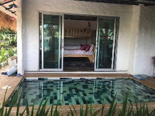 [ノンファイ]一軒家(30m2)| 1ベッドルーム/1バスルーム Baan Suan Samata Farm Stay Pool Villa