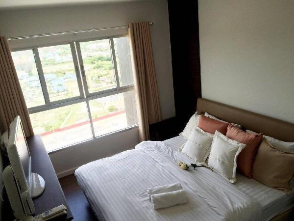 2 Bedroom Best Panorama view corner unit@waterpark Hua Hin
