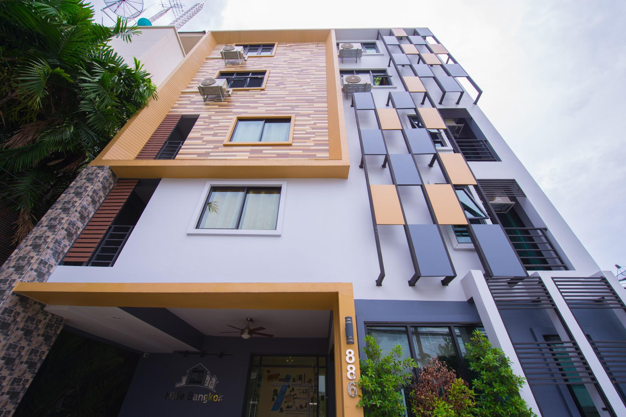 Hide Bangkok hostel ไฮ แบงค็อก โฮสเทล