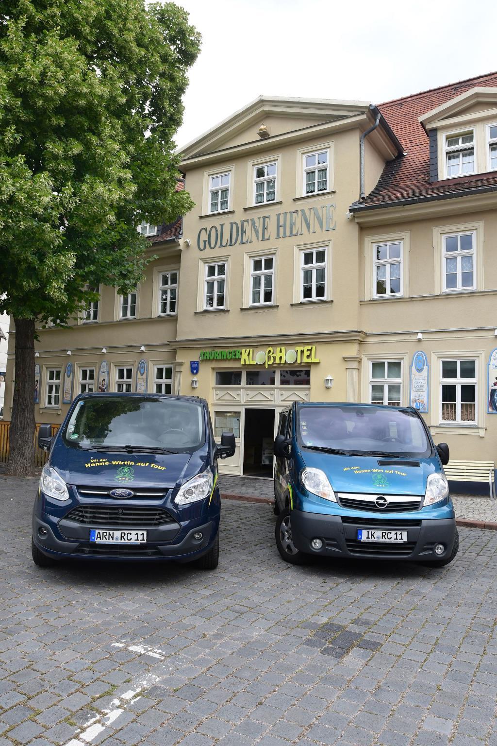 Thueringer Klosshotel Goldene Henne