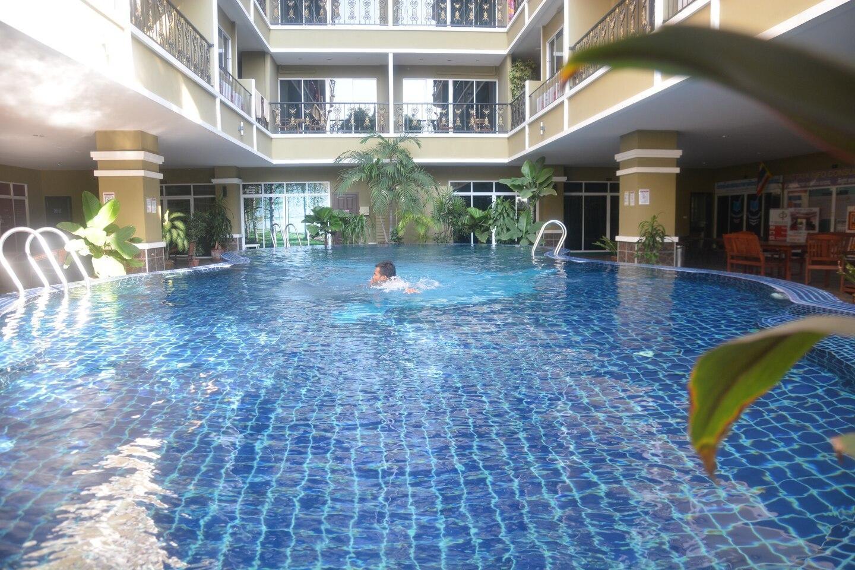 1 bd Pratumnak 301 m beachfront อพาร์ตเมนต์ 1 ห้องนอน 1 ห้องน้ำส่วนตัว ขนาด 35 ตร.ม. – เขาพระตำหนัก