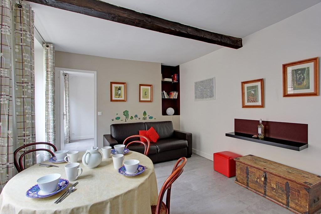 105915 - Appartement pour 4 personnes, métro Censier-Daubenton