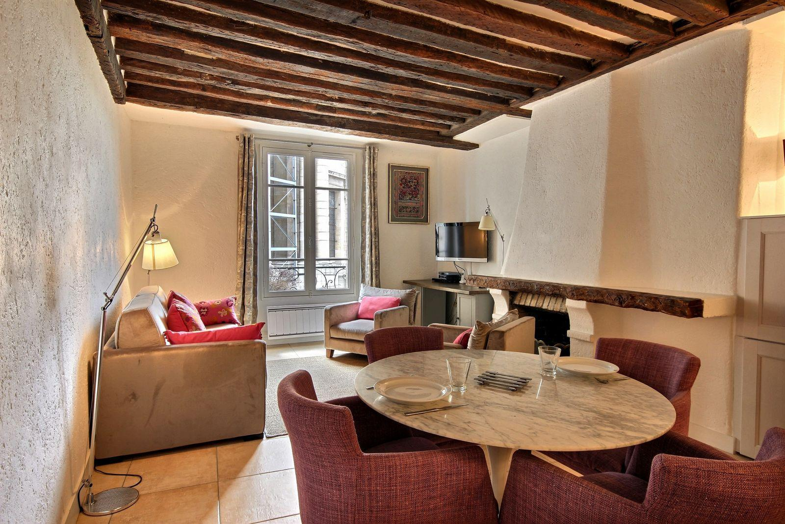 101424 - Warm apartment for 4 people near Les Halles