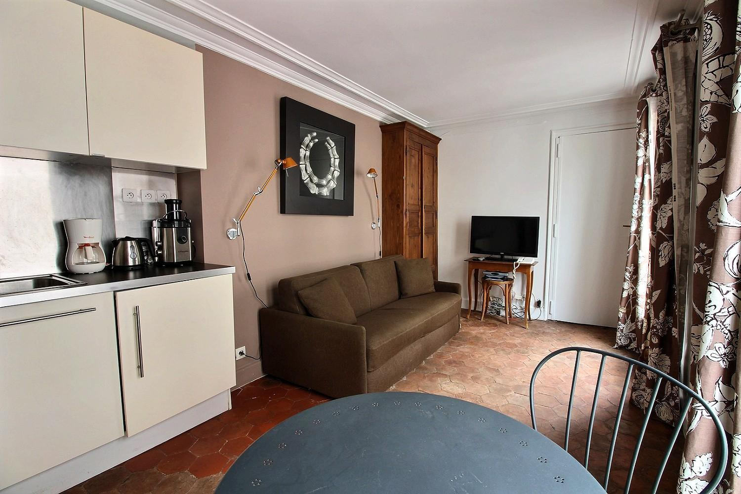 S06315 - Charming studio for 2 people in the Latin Quarter