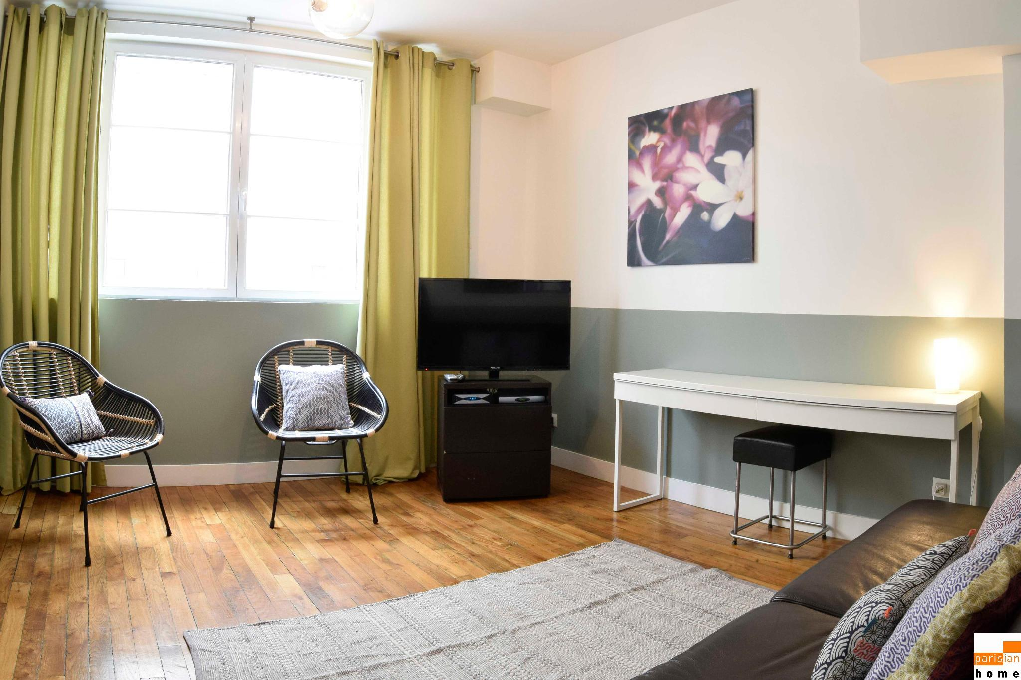 202907 - Comfortable apartment for 6 people near Les Halles