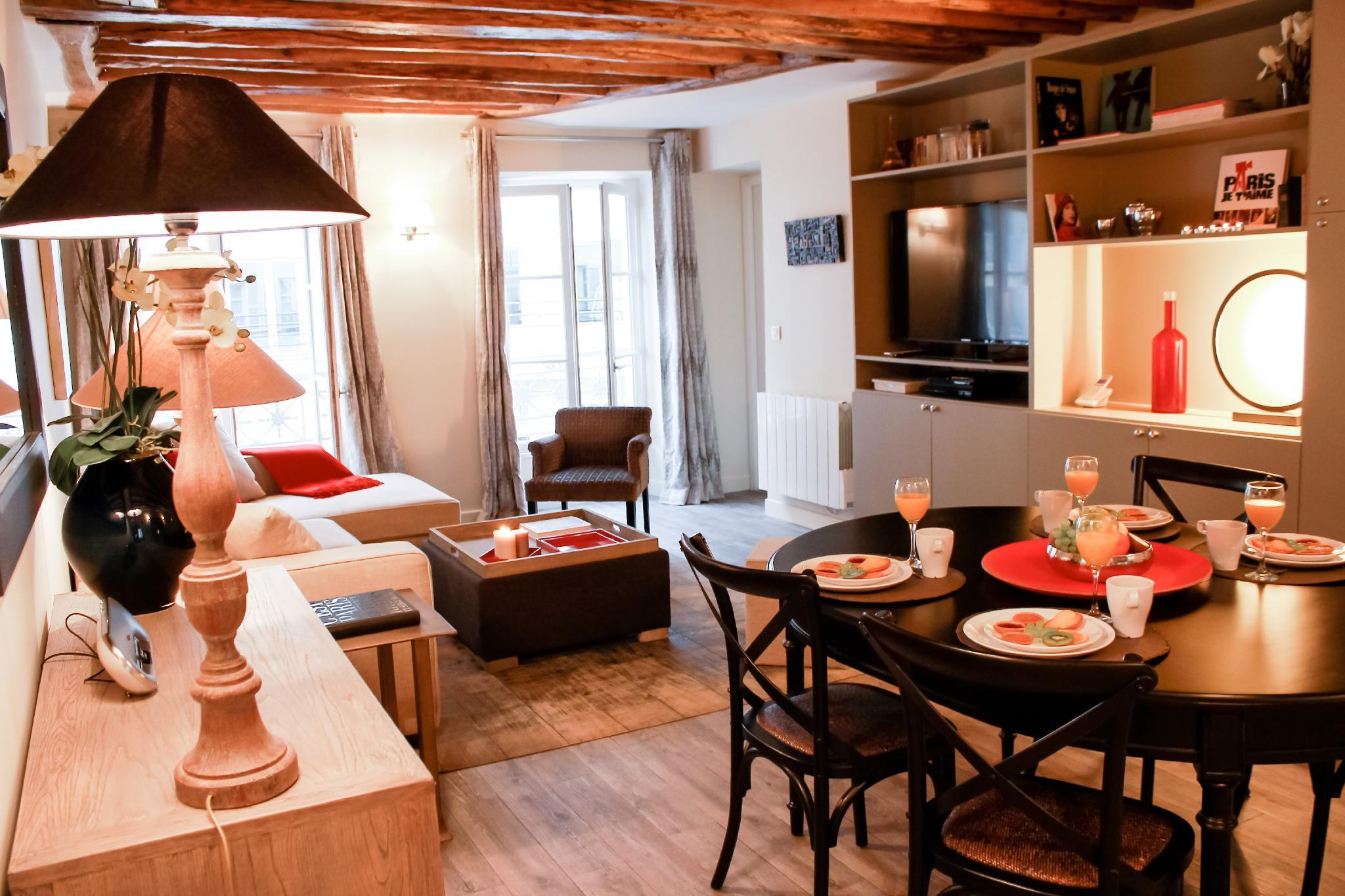 207540 - Appartement 6 personnes Rue Cler