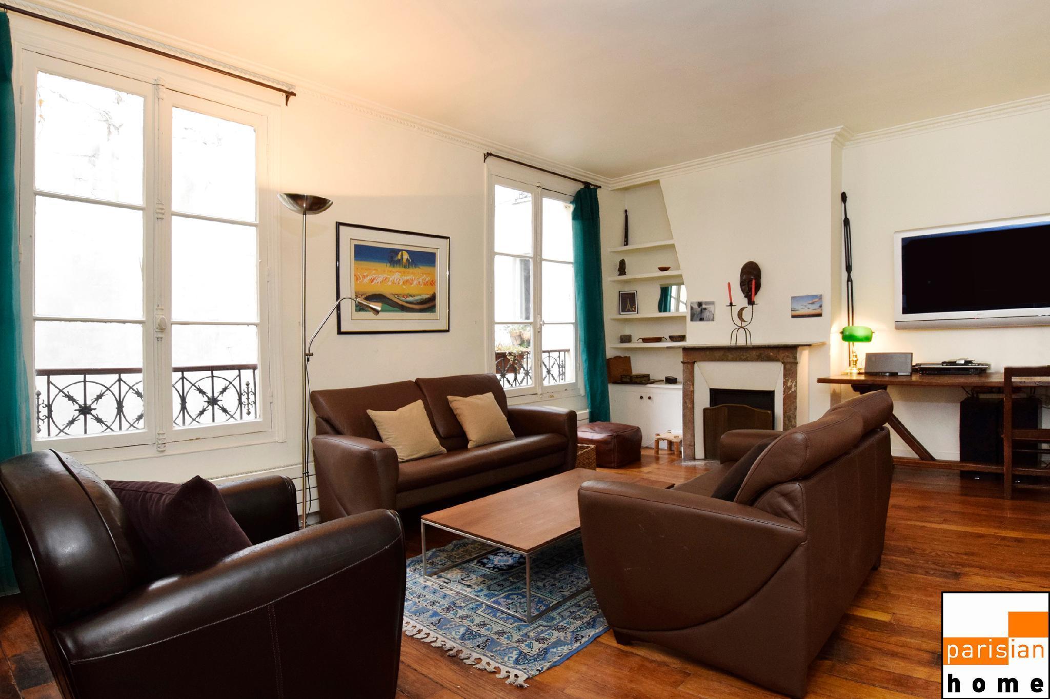 402031 - Grand et bel appartement dans le centre de Paris