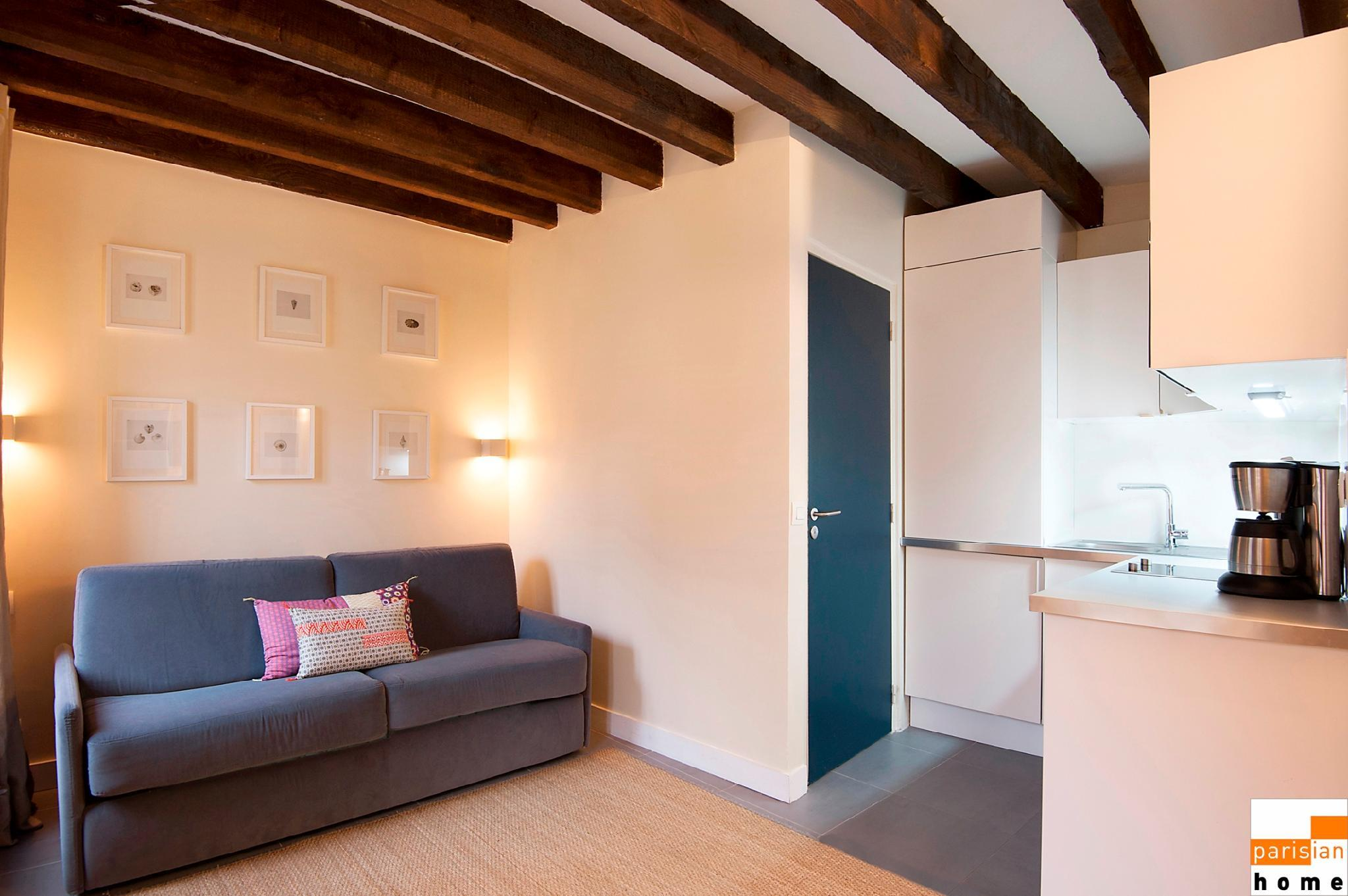 S02448 - Comfortable studio flat for 2 people near Les Halles