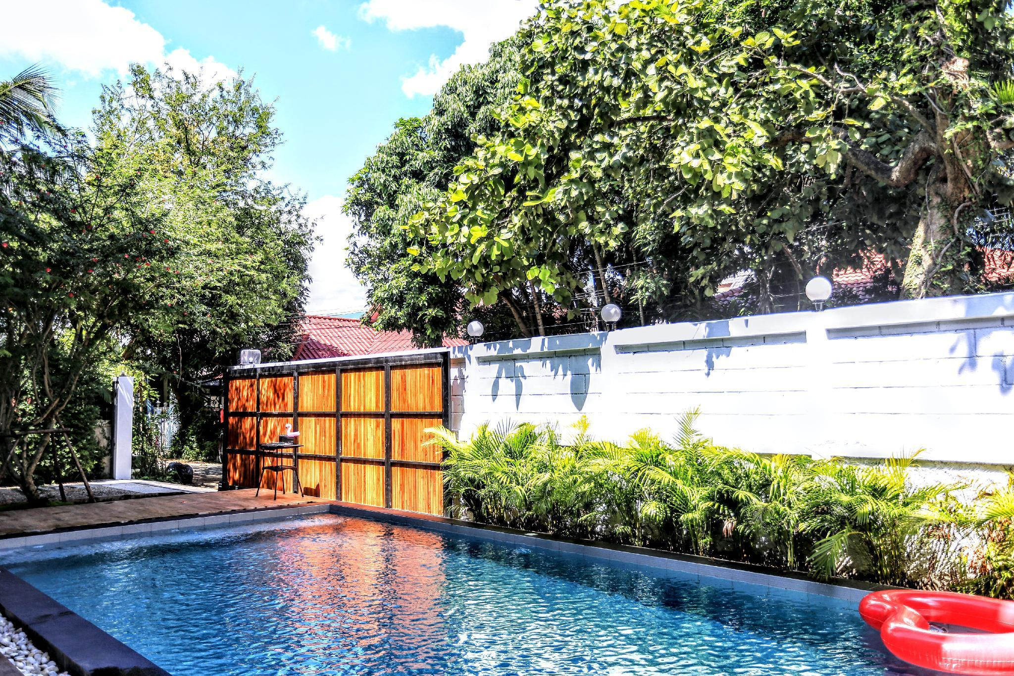 Luxury Pool Villa for families /Quiet surroundings วิลลา 6 ห้องนอน 7 ห้องน้ำส่วนตัว ขนาด 500 ตร.ม. – สนามบินเชียงใหม่