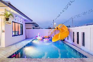 [ヒンレックファイ]ヴィラ(320m2)| 3ベッドルーム/2バスルーム Baan Ingluck Poolvilla Huahin