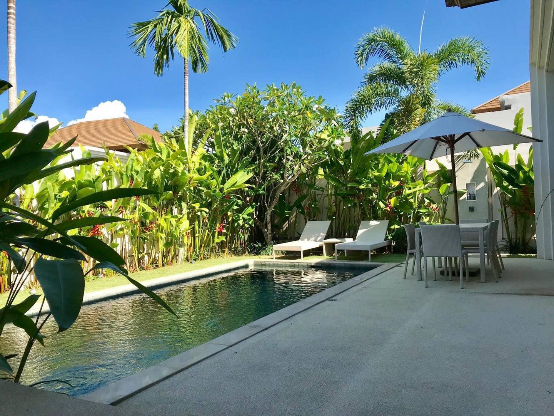 2 BDR Spacious Private Pool Villa in Bangtao วิลลา 2 ห้องนอน 2 ห้องน้ำส่วนตัว ขนาด 309 ตร.ม. – บางเทา